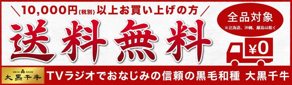 税別10,000円以上購入で送料無料!
